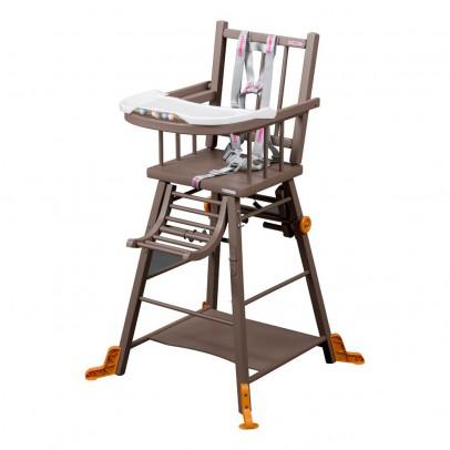 chaise haute transformable laqu taupe archives le fait main. Black Bedroom Furniture Sets. Home Design Ideas