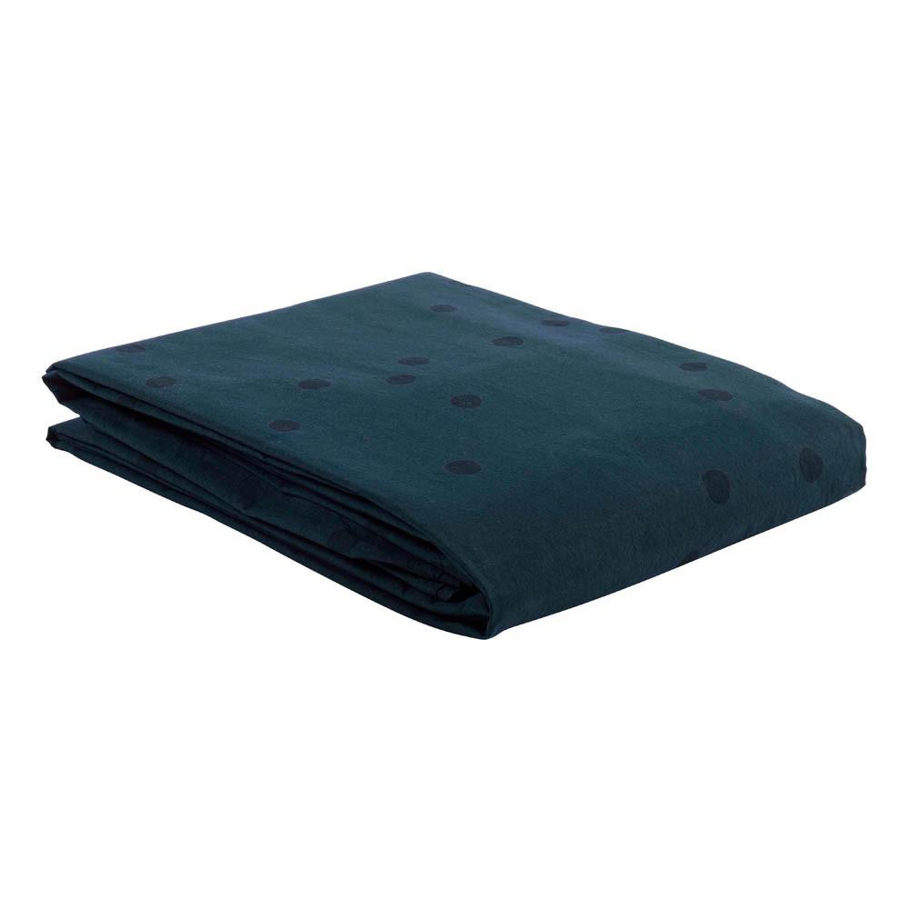 housse de couette odette pois gris gris ardoise la cerise sur le g teau d. Black Bedroom Furniture Sets. Home Design Ideas