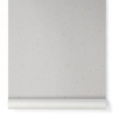 Papier-peint Confetti or Ecru