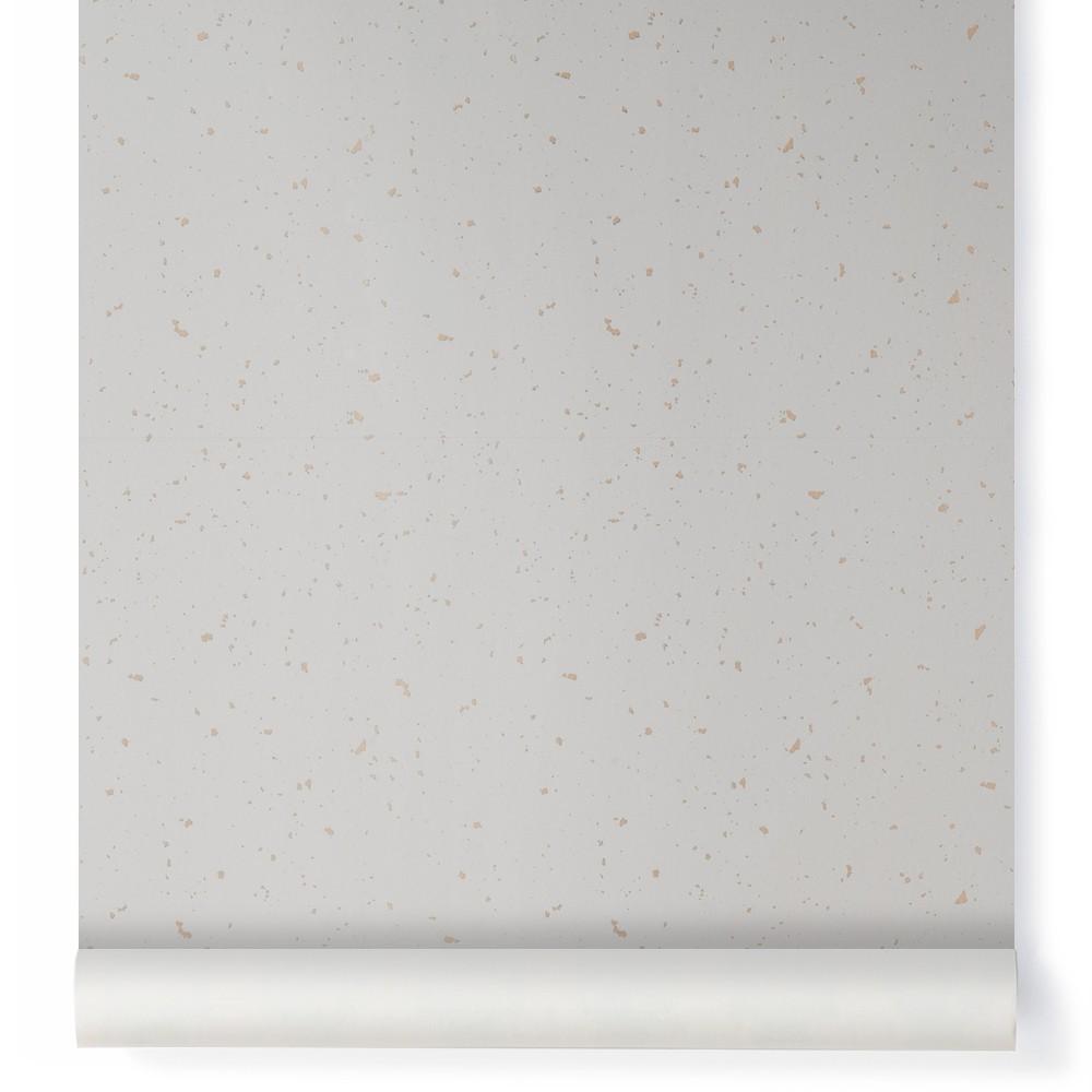 papier peint confetti or ecru ferm living d coration smallable. Black Bedroom Furniture Sets. Home Design Ideas