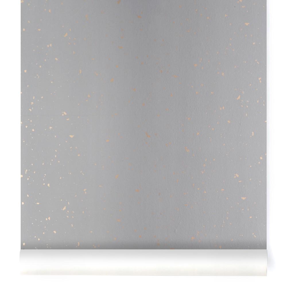 papier peint confetti or gris ferm living d coration. Black Bedroom Furniture Sets. Home Design Ideas