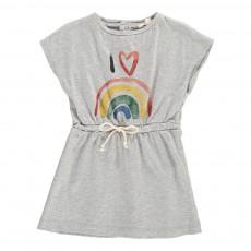 Robe Rainbow Bébé Gris chiné