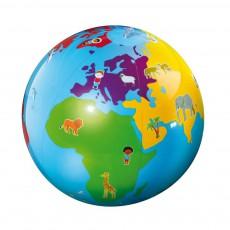 Globe gonflable culbuto Bleu