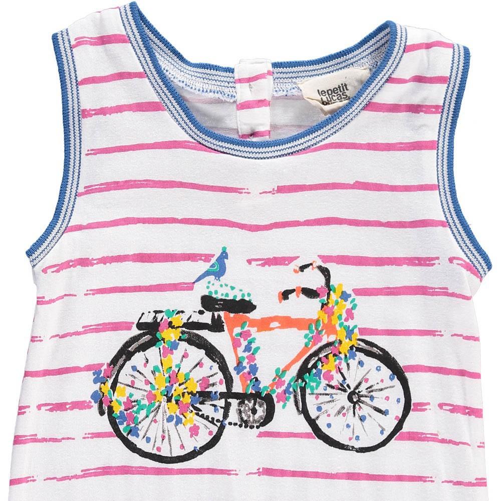 Barboteuse ray e bicyclette jose rose le petit lucas du tertre mode b b smallable - Le petit lucas du tertre ...