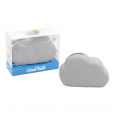 Tirelire nuage Gris