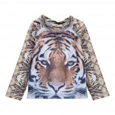 T-Shirt Anti UV Tigre Beige