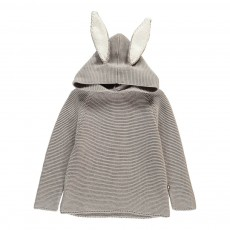 Pull Oreilles Lapin Gris
