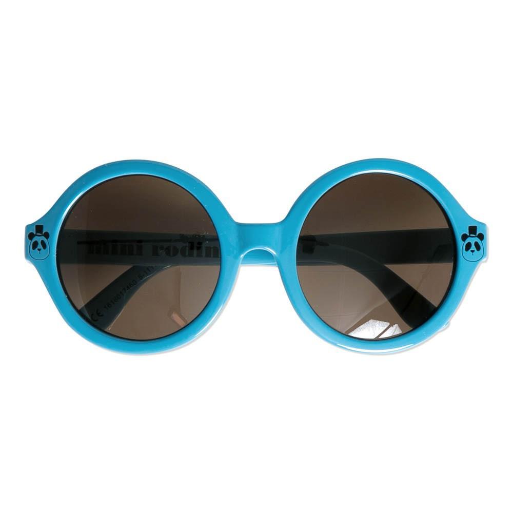 lunettes de soleil rondes bleu mini rodini mode enfant smallable. Black Bedroom Furniture Sets. Home Design Ideas