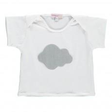 T-Shirt Nuage Blanc