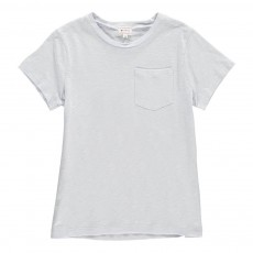 T-Shirt Poche Fadi Bleu pâle