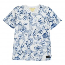 T-Shirt Flora and Faune Blanc