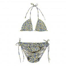 Bikini Fleurs Bleu