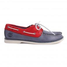 Chaussures Bateau Cuir Seabury Classic Bleu marine
