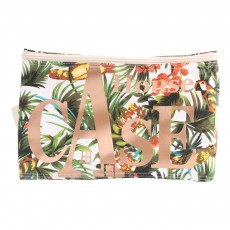Rangement House Case Tropical en nylon Multicolore