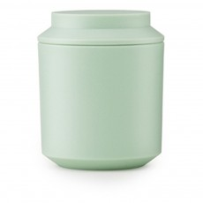 Bocal avec couvercle D8 cm - Design Nicholai Wiig Hansen Vert amande