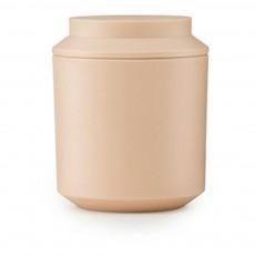 Bocal avec couvercle D8 cm - Design Nicholai Wiig Hansen Beige rosé