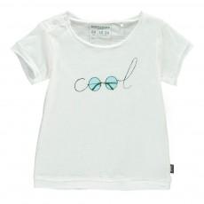 T-Shirt Coton Bio Cool Blanc