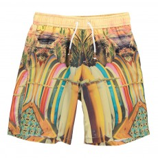 Short Bain Planches de Surf Multicolore