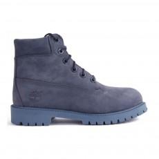 Boots Suède Monochrome Premium Bleu marine