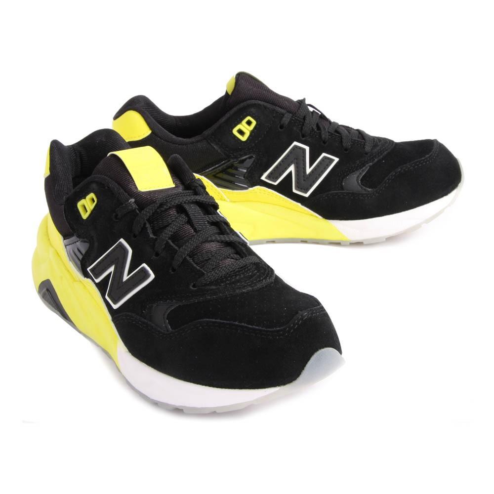 baskets running kl580 jaune fluo new balance chaussures smallable. Black Bedroom Furniture Sets. Home Design Ideas