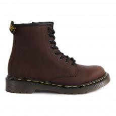 Boots Zippées Cuir Core Delaney Marron