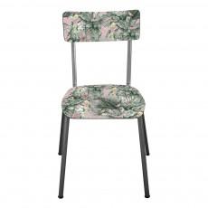 Chaise adulte Suzie pieds bruts - Imprimé Jungle Vert