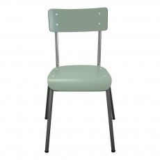 Chaise adulte Suzie pieds bruts - Vert kaki