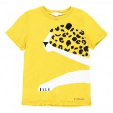 T-Shirt Cheetah Jaune