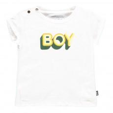 T-Shirt Coton Bio Boy Blanc