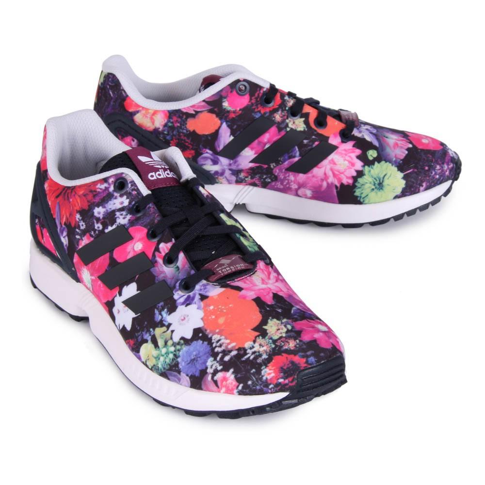 adidas zx flux bambina fiori