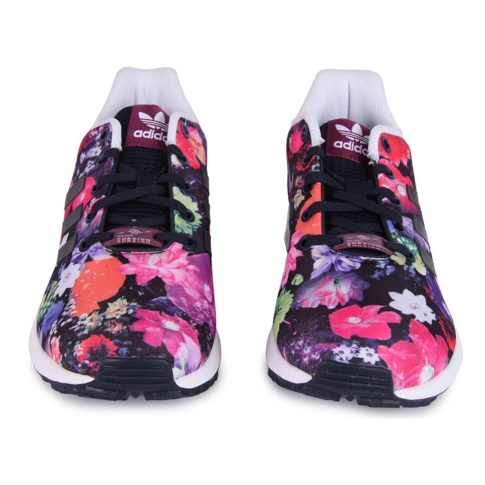 scarpe donna adidas con fiori disegnati