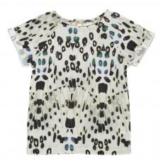 T-Shirt Butterfly Coton Bio Gris