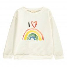 Sweat Rainbow Ecru