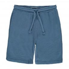 Bermuda Molleton Bleu jean