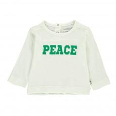 T-Shirt Coton Bio Peace Vert