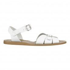 Sandales Waterproof Cuir Classic Blanc