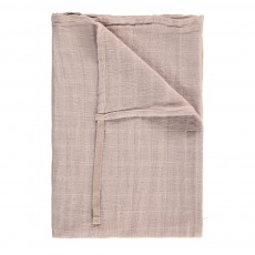 Lange en mousseline de coton 60x60 cm Gris clair