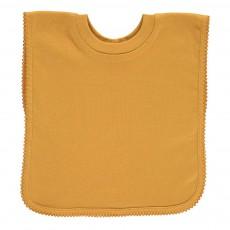 Bavoir encolure t-shirt en jersey de coton Jaune