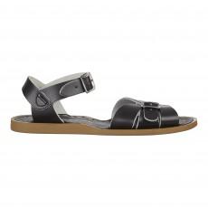 Sandales Waterproof Cuir Classic Noir
