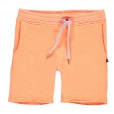 Short Molleton Terry Orange fluo