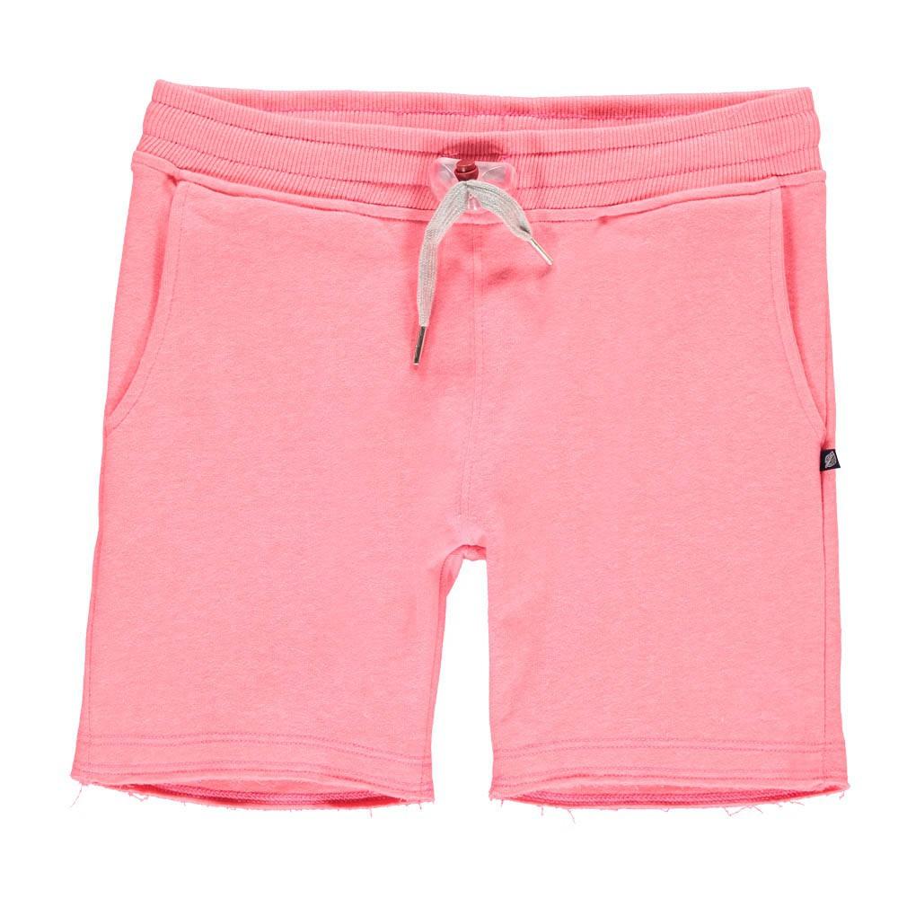 short molleton terry rose fluo sweet pants mode enfant smallable. Black Bedroom Furniture Sets. Home Design Ideas
