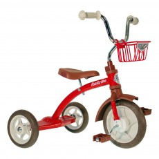 Tricycle avec panier Rouge