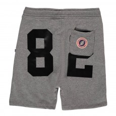 Short Loose Molleton Terry 82 Gris anthracite