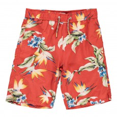 Short Bain Tropical Rouge