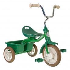 Tricycle avec bacs de transport Vert
