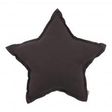 Coussin étoile - Anthracite