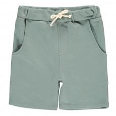 Short Molleton Vert de gris