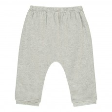 Pantalon Jersey Gris chiné
