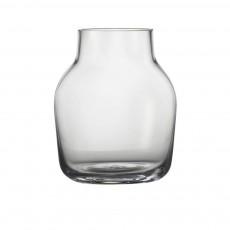 Vase Silent en verre Transparent