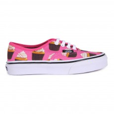 Baskets Lacets Late Night Cupcake Authentic Rose